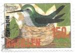 Sellos del Mundo : America : Antillas_Neerlandesas : aves