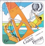 Stamps : Africa : Guinea_Bissau :  Año Internacional de la Juventud
