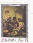 Stamps : Asia : United_Arab_Emirates :  PINTURA DE MURILLO