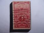 Sellos de America - Estados Unidos -  One Hundredth Anniversary of the American Turners (1848-1948)-Antorcha y Emblema de los Torneros Amé