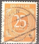 Stamps : Europe : Germany :  Numeral.