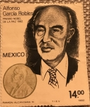 Stamps : America : Mexico :  ALFONSO GARCIA ROBLES