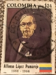 Stamps : America : Colombia :  ALFONSO LOPEZ PUMAREJO