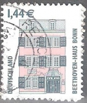 "Stamps : Europe : Germany :  "" Monumentos"" Casa Beethoven,Bonn."