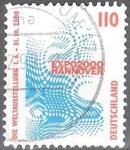 Sellos del Mundo : Europa : Alemania : Exposición Emblema del Mundo EXPO 2000, Hannover.