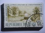 Sellos de Africa - Togo -  4°Aniversario de la Proclamación de la Independencia,27 Abril 1964-Explotación del Fosfato de Kpeme.