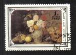 Sellos del Mundo : Europa : Rusia : Pinturas de flores, naturaleza muerta, por Ivan Chrutskyj