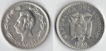 monedas de America - Ecuador -  Un sucre