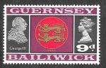Stamps United Kingdom -  16 - Isabel II y....