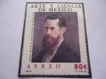 Sellos de America - México -  Arte y Ciencia de México - José María Velasco Gómez (1840-1912)- Pintor paisajista Mexicano.