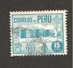 Sellos de America - Perú -  INTERCAMBIO