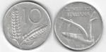 monedas de Europa - Italia -  10 LIRE
