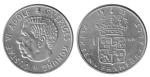 monedas de Europa - Suecia -  1 krona