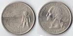 monedas del Mundo : America : Estados_Unidos :  QUARTER DOLLAR OHIO