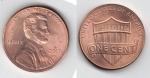 monedas del Mundo : America : Estados_Unidos :  one cent