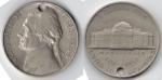 monedas del Mundo : America : Estados_Unidos :  FIVE CENTS Nickel Jefferson