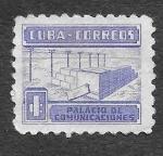 Stamps Cuba -  RA11 - Palacio de Comunicaciones