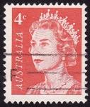 Stamps Australia -  Isabel ll