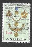 Sellos de Africa - Angola -  533 - Medalla Militar al Valor