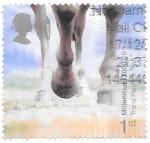 Sellos de Europa - Reino Unido -  CABALLO
