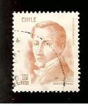 Stamps Chile -  INTERCAMBIO