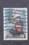 Sellos del Mundo : America : Estados_Unidos : PIONERO DE LA AVIACIÓN- EDDIE RICKENBACKER