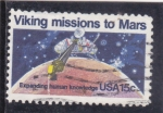Stamps : America : United_States :  VIKING MISIÓN EN MARTE
