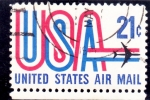 Stamps United States -  AVION