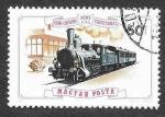 Stamps Hungary -  2444 - Centenario del Ferrocarril Gyor-Sopron