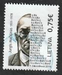Stamps : Europe : Lithuania :  1066 - 115 Anivº del nacimiento de George Maciunas
