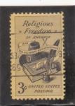 Sellos del Mundo : America : Estados_Unidos :  libertad religiosa en EE.UU
