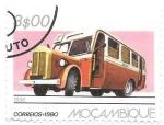 Sellos de Africa - Mozambique -  autobús