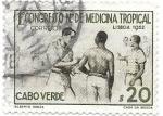 Sellos del Mundo : Africa : Cabo_Verde :  1ºcongreso de medicina tropical