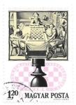 Sellos de Europa - Hungría -  ajedrez