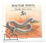 Sellos de Europa - Hungría -  serpiente