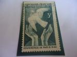 Stamps : Europe : France :  Conferencia de la Paz en París, 1946.