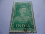 Stamps : Asia : India :  Bhagat Kabir Yi (1440-1518)-(San Kabir) Poeta, Filosofo y Santo de la India - Siglo XV.