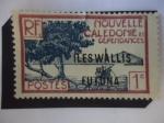 Stamps : Oceania : Wallis_and_Futuna :  Islas de Wallis y Fortuna, 1941- Archipiélago:Nueva Caledonia (Kanaka) y Dependencia