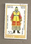 Sellos de Asia - Corea del norte -  Caballero de la disnatía Li