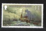 Sellos de Europa - Reino Unido -  Barcos en el mar