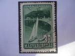 Stamps : Europe : Hungary :  Lago Balatón - Serie: Lugares de Interés.