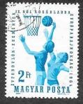 Sellos de Europa - Hungría -  1593 - IX Campeonato Europeo Femenino de Baloncesto