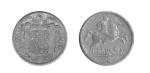 monedas del Mundo : Europa : España :  Cinco centimos