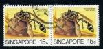 Sellos del Mundo : Asia : Singapur : Avispa