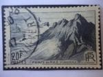 Stamps : Europe : France :  pointe du Raz - Punta de Raz - Finisterre - Turismo.