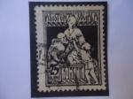 Stamps : Europe : Romania :  Enfermería - Bienestar Social