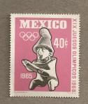 Stamps Mexico -  XIX Juegos Olímpicos