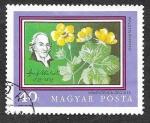 Stamps : Europe : Hungary :  2089 - Planta y Botánico