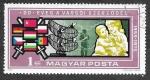 Stamps Hungary -  2393 - XX Aniversario de la Firma del Tratado de Varsovia