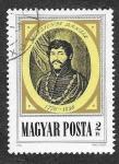 Stamps : Europe : Hungary :  2435 - Dániel Berzsenyi
